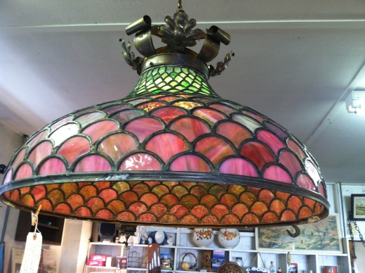 fish scale 30s chandelier
